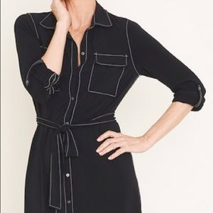 Chico's Travelers Collection Shirt Dress